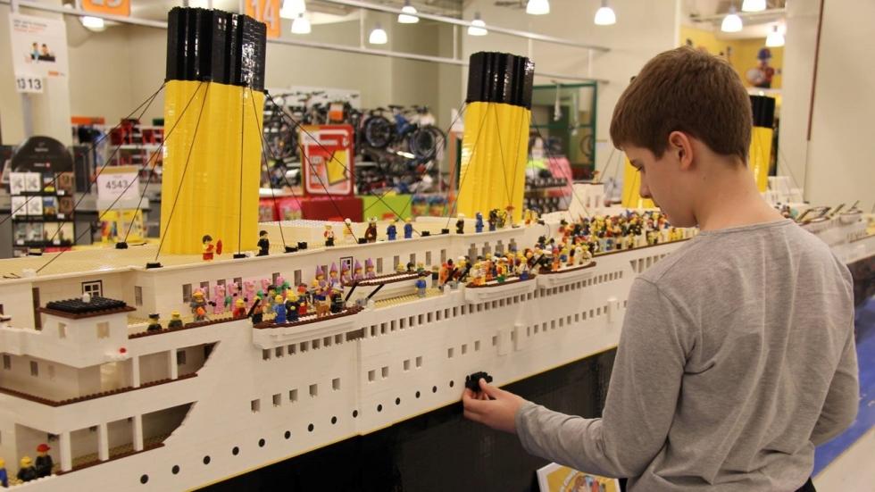 titanic en lego