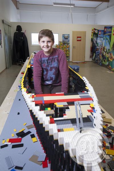 Brynjar Karl Birgisson titanic lego
