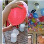 Astuce malin pour gonfler rapidement les ballons flottants