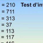 Rigolo ce test d'intelligence