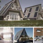 Les maisons pliable de l'architecte Renato Vidal