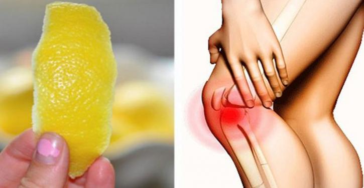 Citron: douleurs articulatoires