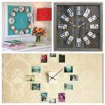 7 idées de décoration murale avec une horloge originale!