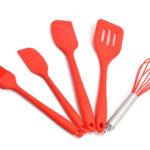 Ustensiles de cuisine en silicone : mode d'emploi
