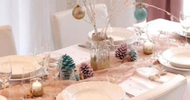 decoration table noel