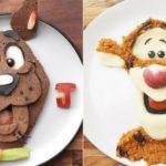 Elle transforme la nourriture en héros de dessins animés !!