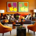 Décoration, les tonalités estivales de l'oranger