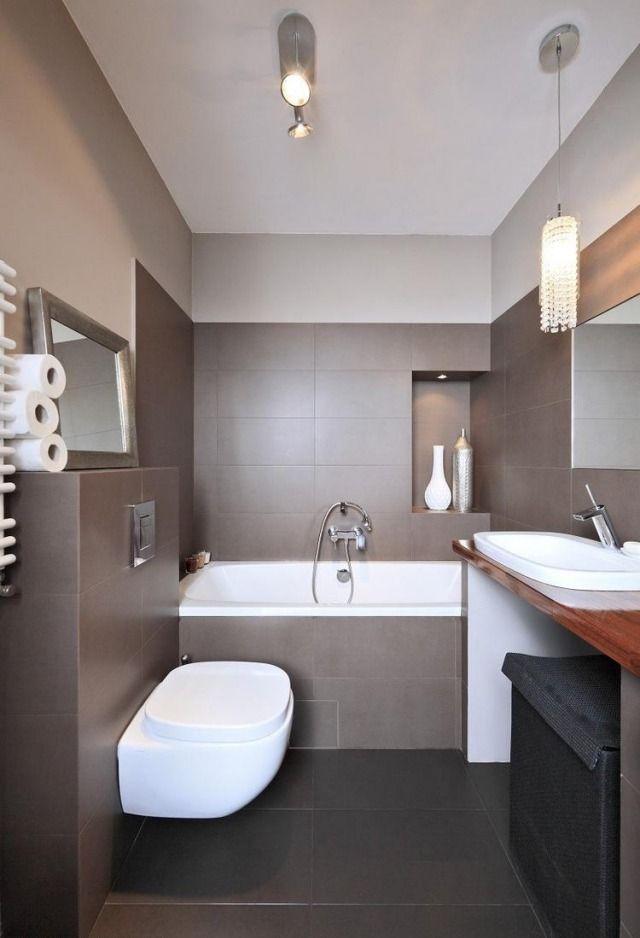 salle de bain chocolat