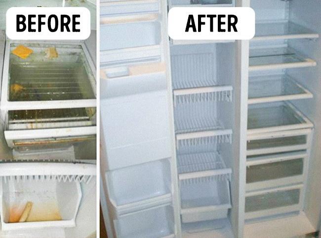 nettoyage réfrigérateur