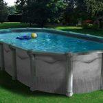 La piscine hors-sol métallique, avantages et inconvénients