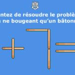 Test intelligence des bâtonnets