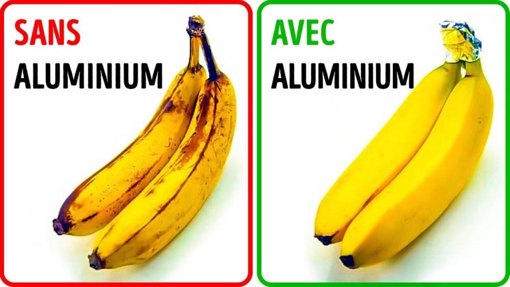 conservation banane