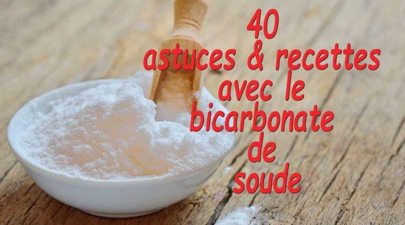astuce bicarbonate de soude
