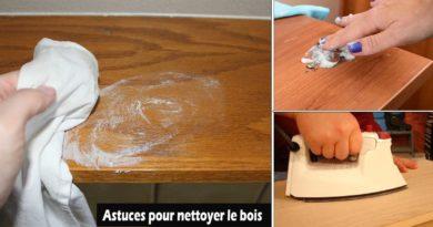 astuces nettoyage bois