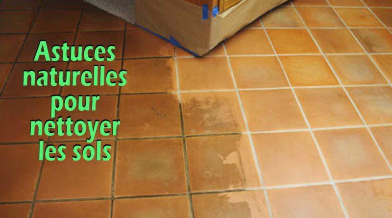 astuces nettoyage sol