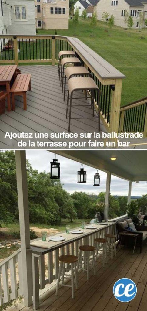 bar balustrade