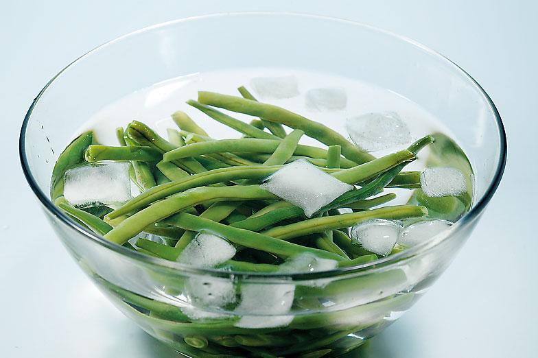 blanchissement legumes