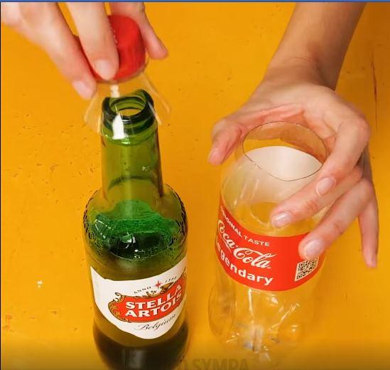 fermeture plastique bouteille vin