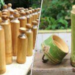Bouteilles en Bambou : pour se débarrasser des bouteilles en plastique