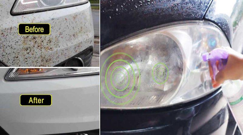 nettoyage voiture vinaigre blanc