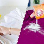 15 astuces pour éliminer les taches sur les vêtements
