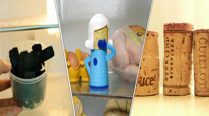 éliminier mauvaises odeurs frigo