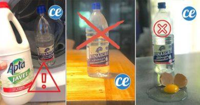 utilisations deconseillees vinaigre blanc