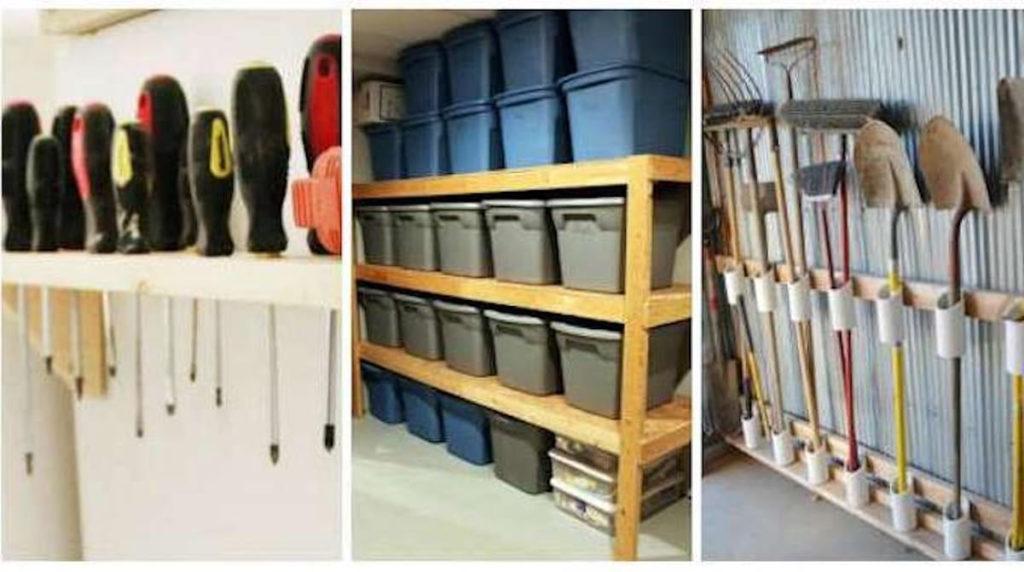 idées rangement outils garage
