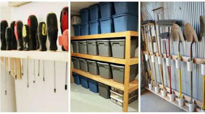 idees rangement outils garage