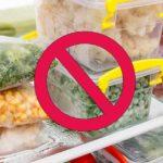 Attention : 7 Aliments à ne jamais congeler !