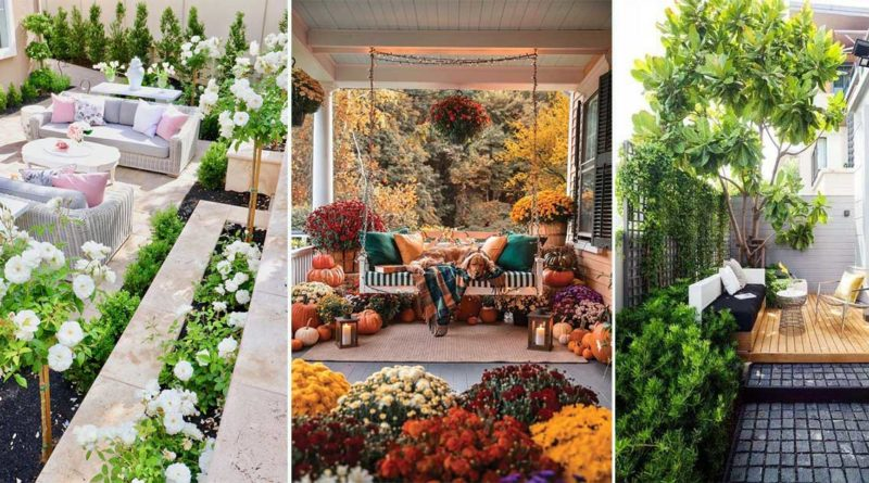 deco terrasse fleurs